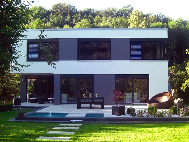 Einfamilienhaus mit einliegerwohnung modern  Modern - Gerlach Bau GmbH